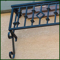 Woodland, Ornamental Iron