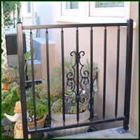 Wrought Iron Fence, Lodi